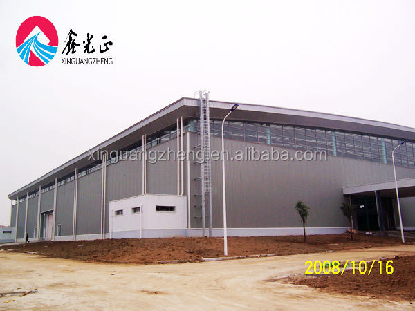 High rise tube truss steel structure hangar
