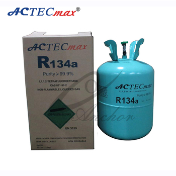High Quality Refrigerant Gas R134a With 99.9% Purity 13.6kg ...