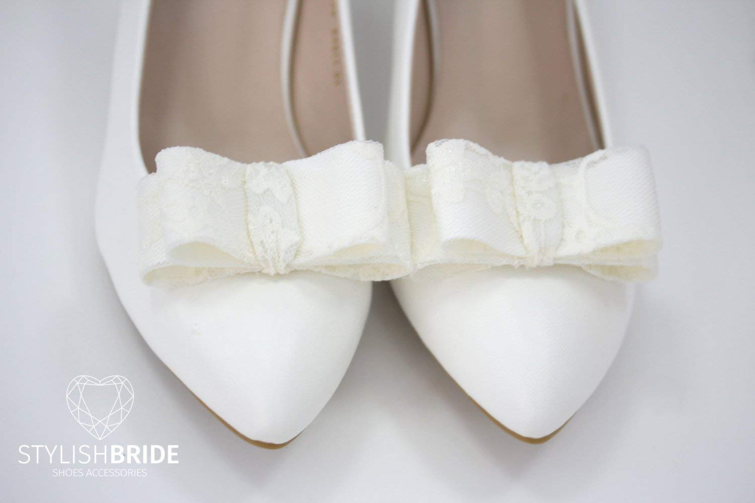 15a83a9c9d6 Buy Ivory Lace Bridal Shoe