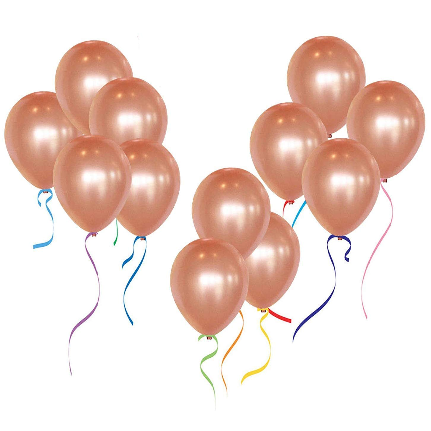 """12"""" Rose Gold Latex Balloons For Wedding Party Decorations 50pcs/pack"""