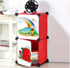 2 cubes hot selling plastic closet organizers for baby and children