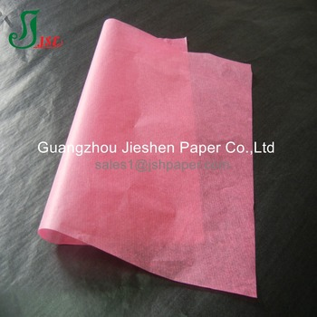 2017 custom printed 17gsm thin cotton tissue paper