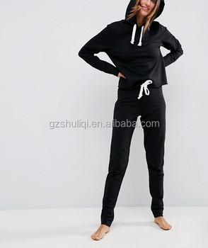 9f39340edc71f Estilos americanos algodón deporte gimnasio chándal niñas chándal tela  suave OEM disponible cómodo chándal