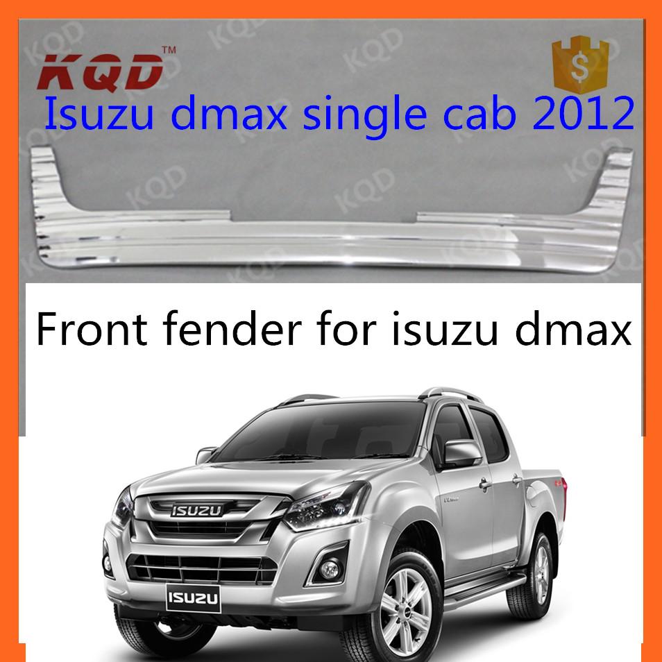 CHROME FOG LIGHT LAMP COVER TRIM FOR ALL NEW ISUZU D-MAX 2012 PICK UP v.2