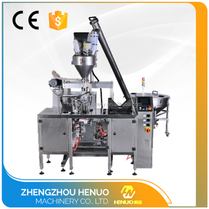 Small size automatic 25kg powder packing machine with auger weighing system