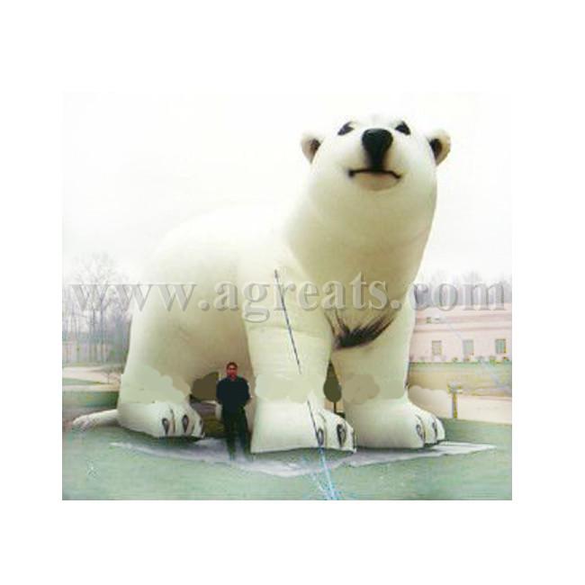 Inflable gigante Oso polar réplica para publicidad S2054-Inflables ...