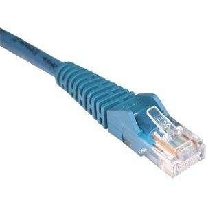 "Tripp Lite, Cat5e Cat5 Snagless Molded Patch Cable Rj45 M/M Patch Cable Rj-45 (M) Rj-45 (M) 20 Ft Utp Cat 5E Molded, Stranded, Snagless Blue ""Product Category: Supplies & Accessories/Network Cables"""