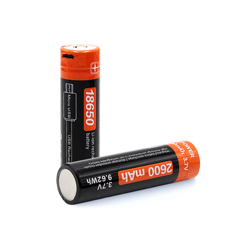 2600mah 3.7v Lithium Ion 18650 Li-ion Rechargeable Battery with USB port