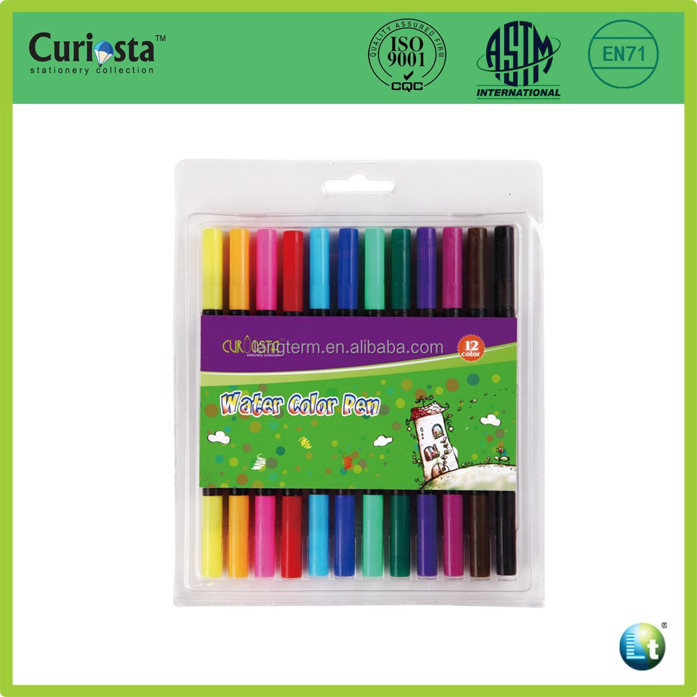 cheap 12 colors colored marker pens