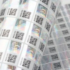 Custom Sticker Security Hologram Label Custom 3D Anti-fake Adhesive Hologram Security Code Sticker Sheet Label