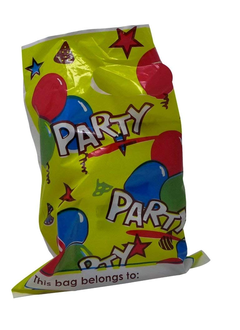 Get Quotations Party Treat Bags Pack Of 24 Cellophane Favor Bulk Loot