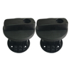 Lantsun 10L three-dimensional round black plastic drum lock for Wrangler Jeep, oil drum accessories