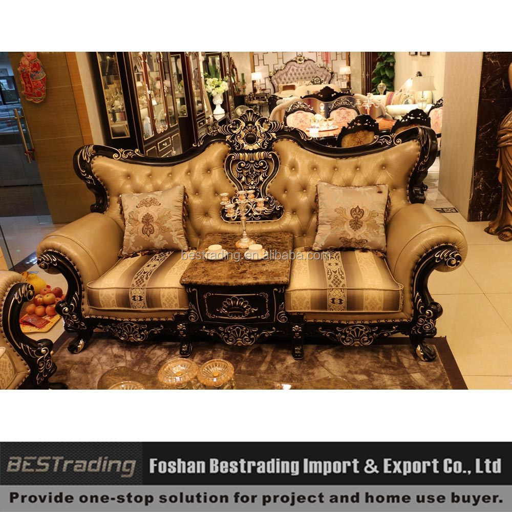 Luxury Hand Carved Sofa Set,Leather Sofas And Home Furniture,Wooden Sofa  Set Furniture   Buy Royal Furniture Sofa Set,Leather Sofas And Home  Furniture,Wood ...