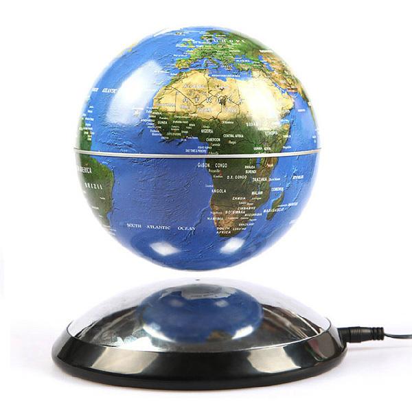 acheter livraison gratuite l vitation magn tique flottant globe carte du monde. Black Bedroom Furniture Sets. Home Design Ideas