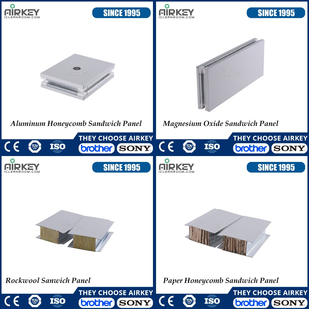 Hot Sale Light Weight Clean Room EPS Sandwich Panel for Roof and Wall
