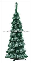 7ft green artificial snowing christmas tree