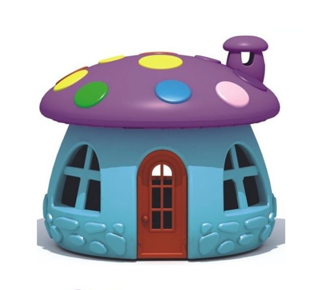 Mushroom Kids Plastic Indoor Play House Playground Plastic Children Castle Playhouse for Sale