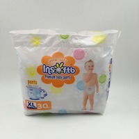 Export to Russia Insoftb brand baby training pants diapers made in China