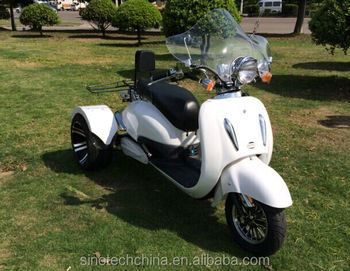 2016 Hot New The 3 Wheel Vintage Vespa Scooter For