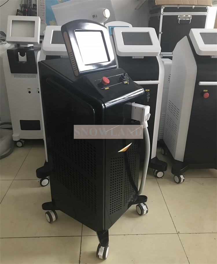 2018 New Multi Wavelength Laser 755nm 808nm 1064 nm Diode Laser Permanent Hair Removal Machine