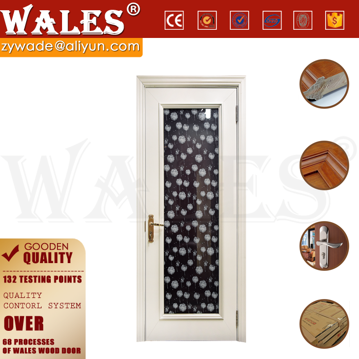 WALES offer white cheap solid oak 6 panel interior doors