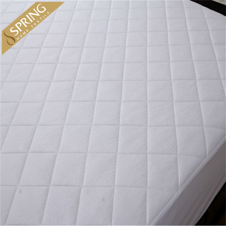 hot sales microfiber quilted mattress cover, mattress protector