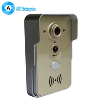 Smart WiFi video doorbell for smartphones & tablets, wireless video door phone, IP Wi-Fi camera