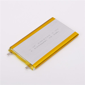 Lightweight 6060100 ternary material 3.7v polymer lithium battery