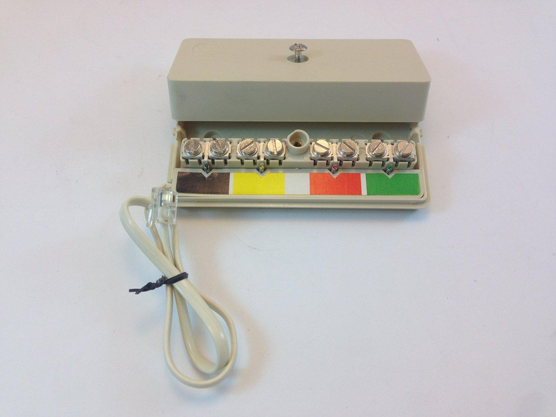 TELEPHONE MODULAR WIRING BOX