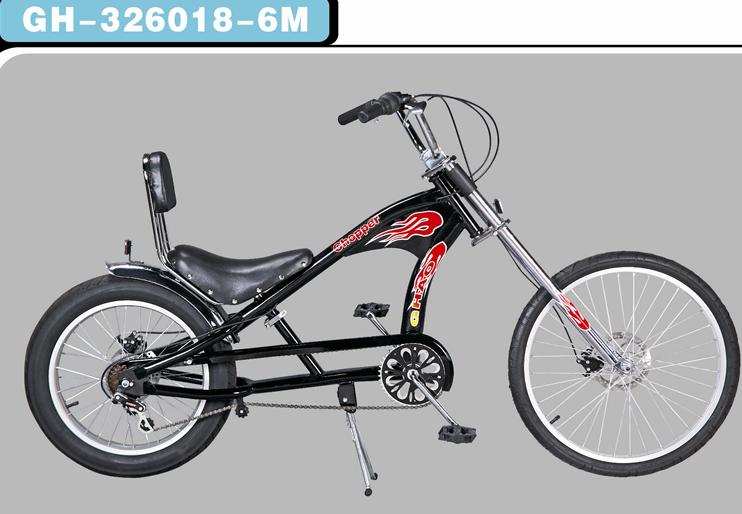 Mini Chopper Pocket Bike Fat Tire Chopper Bike Bicycle Harley ...