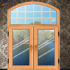 Double glazed tempered glass windows arched window open outside casement window