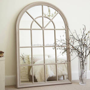 original large arched window mirror