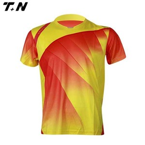 Custom made new design cricket team jerseys sport t-shirts cricket