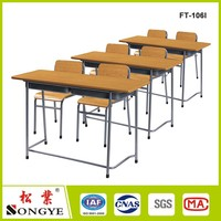 Kids school furniture / University Desk and Chair
