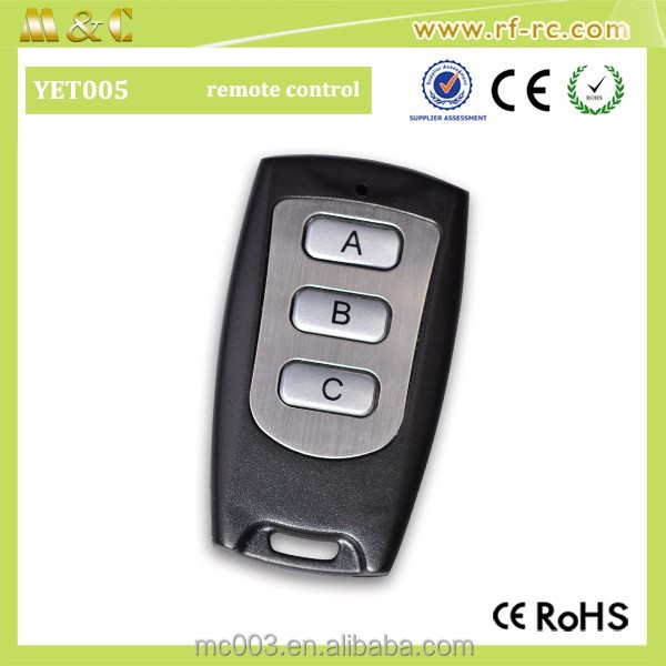 Automotive relay Wireless RF Receiver module general purpose relay wireless remote controller