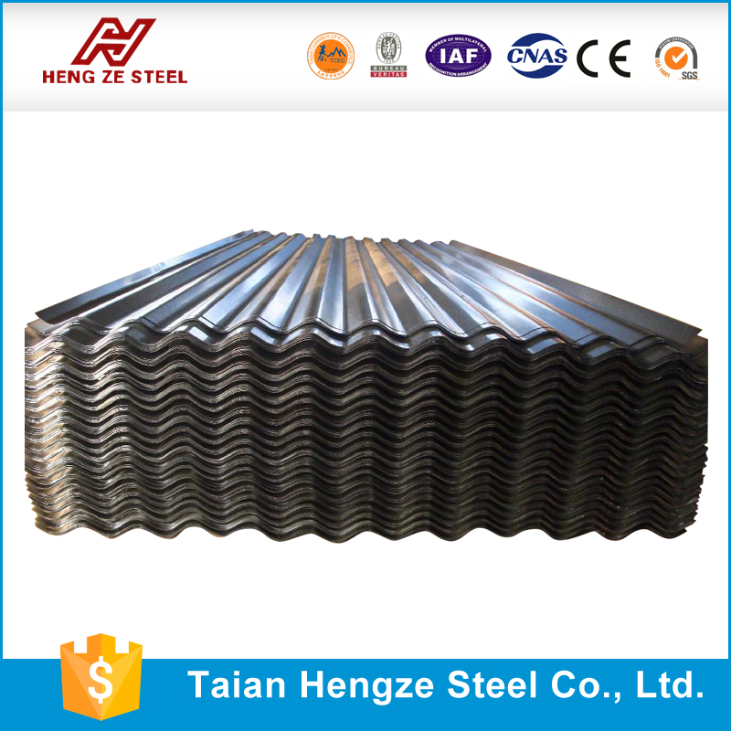 Brand new black corrugated metal roofing sheetaluminum sheet roofing galvanized corrugated steel sheet / plate