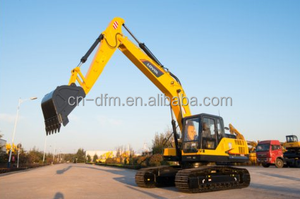 25 Ton 1.2 m3 Mini Excavator Soil Digger Karachi Pakistan FR260 Excavator For Sale With ISUZU Engine