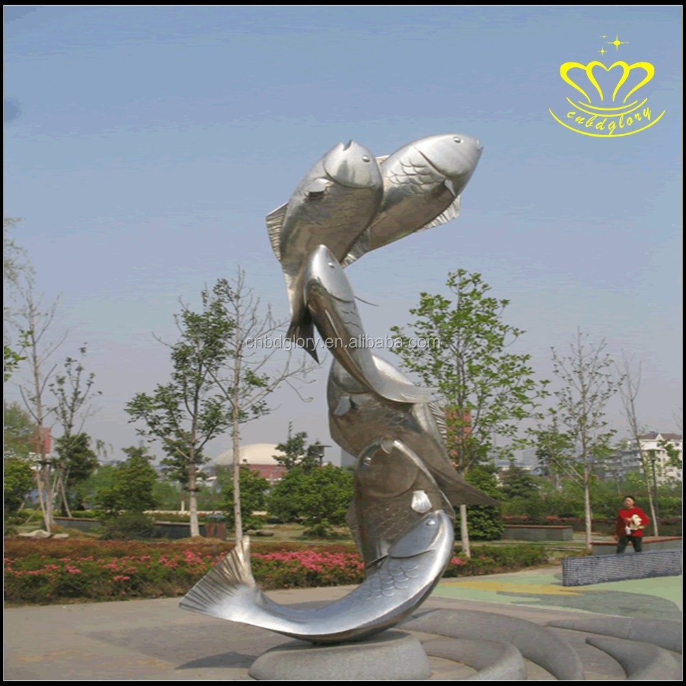 Metal Material Kinetic Energy Motion Statues