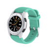 G8 2017 bluetooth4.0 MTK2502 heart rate monitor round screen NFC watch phone with extra colorful strap