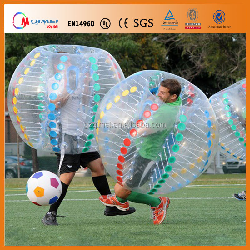 Bubble ball adult good price inflatable bumper ball