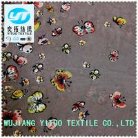 YT Hi-Q Low price Wholesale 75D cheap printed polyester chiffon fabric