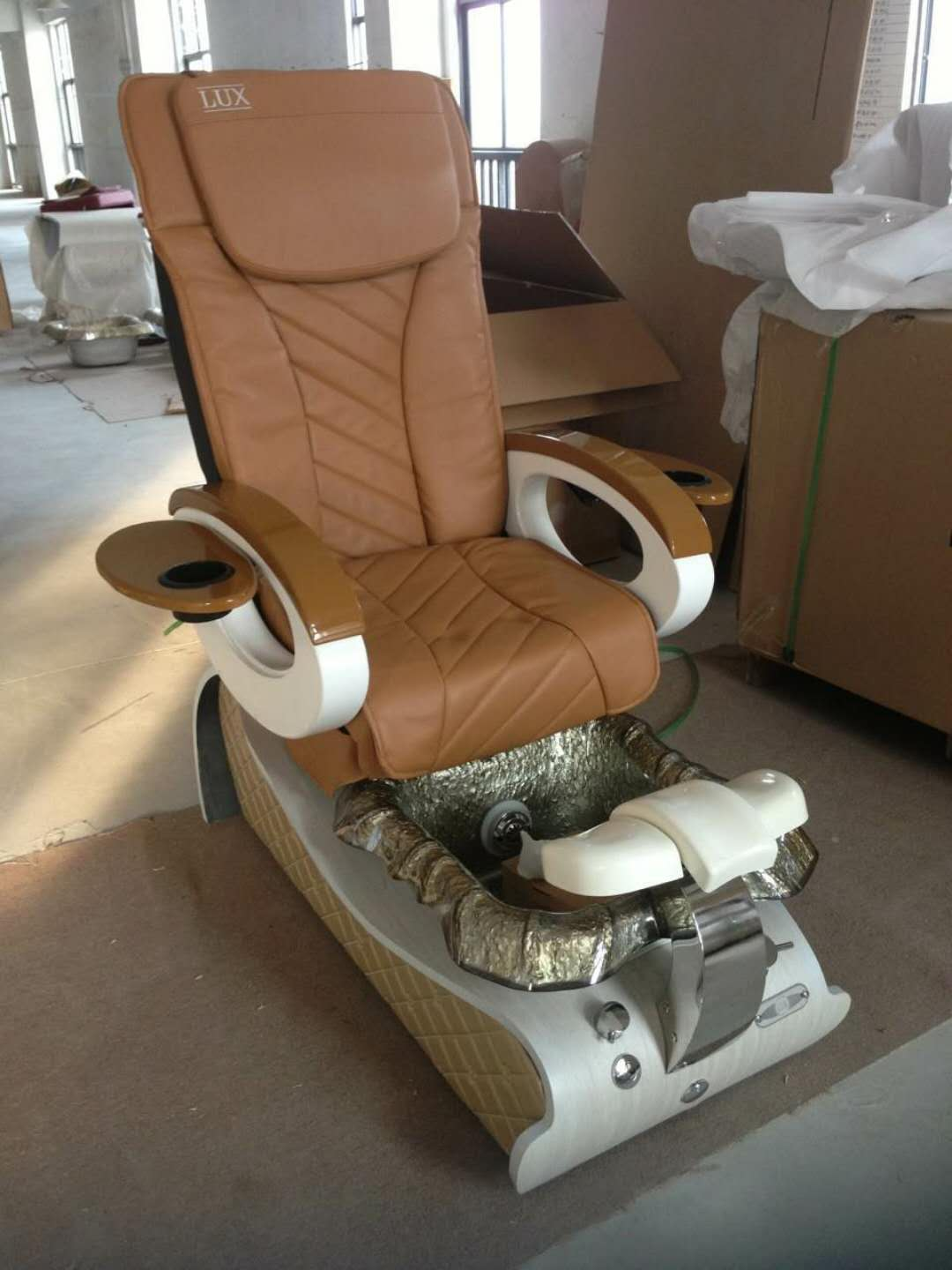 Luxury Human Touch Massage Pedicure Chairs Foot Spa Chair