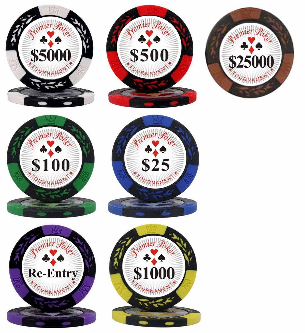 Poker chips weight regulations