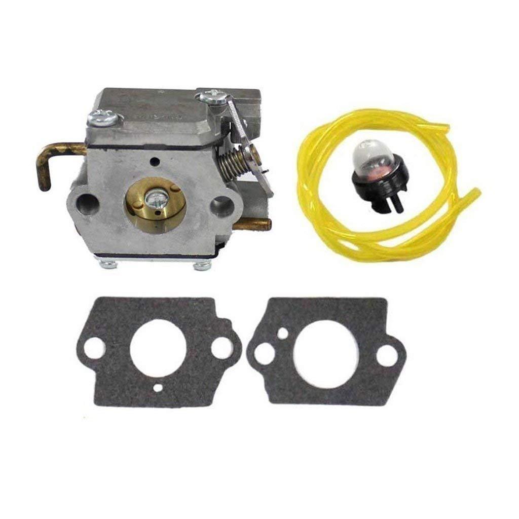 Get Quotations · HURI Carburetor with Gasket Fuel Line Primer Bulb for MTD  Troy-Bilt BL100 BL150 BL250