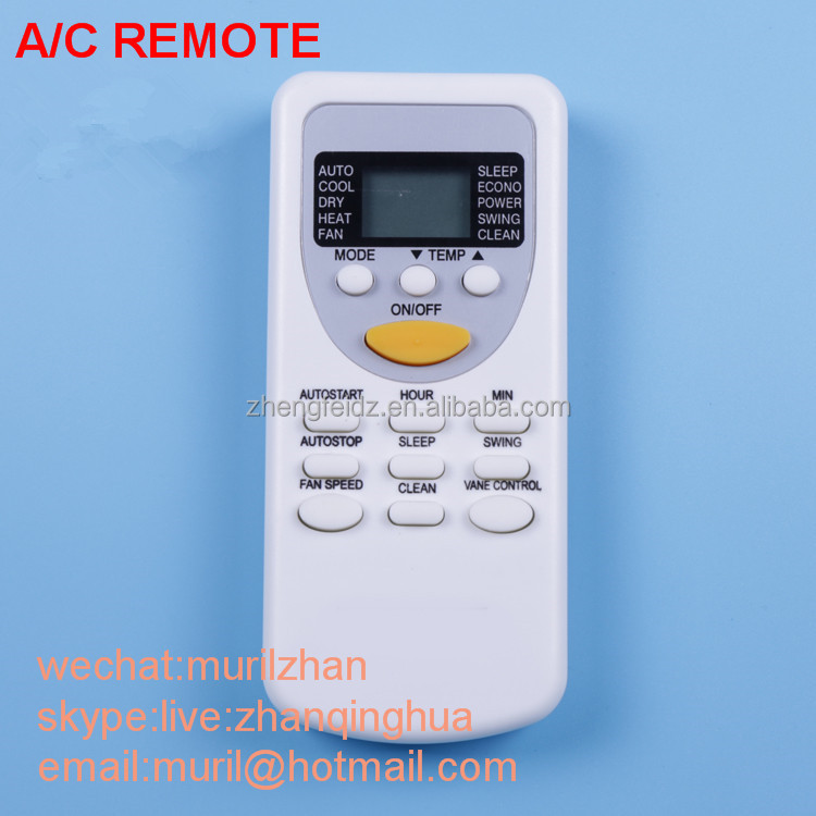 White 13 Keys [english] New Air Conditioning Remote Control,It Is ...