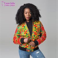 New Winter African Clothing Dashiki Printed Long Sleeve Jacket