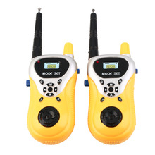 Portable Child Electronic Mini Handheld Phone Interphone Walkie Talkie Toy for Kids