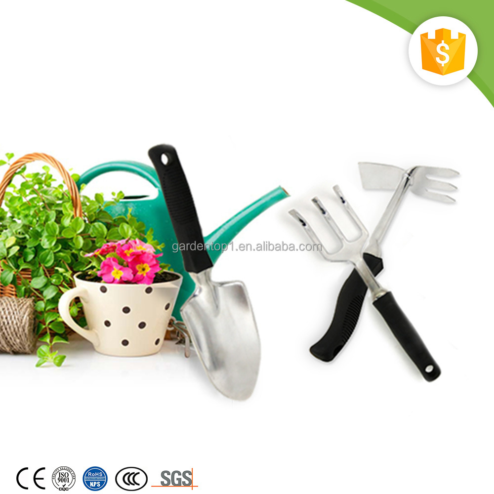 Private Label Aluminum One-hand Use Small Garden Digging Tools