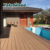 wood composite sanded flooring WPC Nature color Decking Floor outdoor