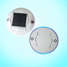 Round shape high brightness Aluminum Alloy solar 30 Ton led lighting road stud
